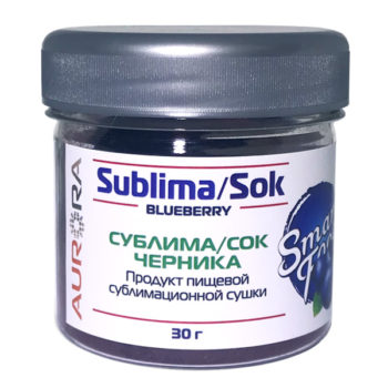 Сок Сублима черника